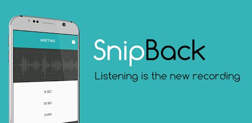 Приложение «SnipBack»