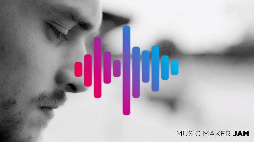 Приложение «Music Maker JAM»