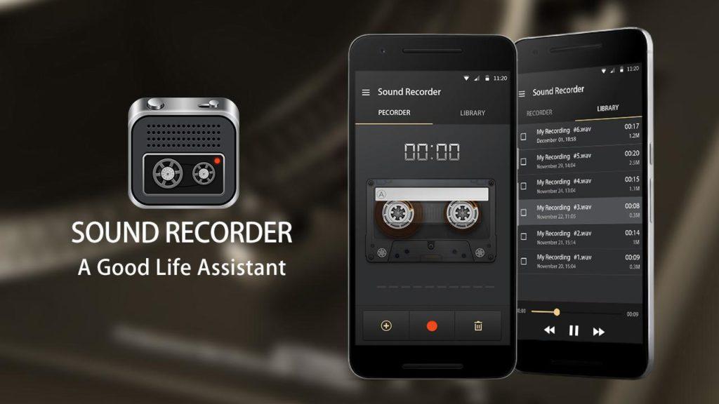 Приложение «SmartMob Sound Recorder»